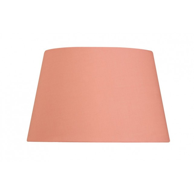 Oaks Lighting S901/20 PP Pale Pink Cotton Drum Shade