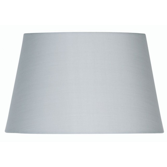 Oaks Lighting S901/8 SG Soft Grey Cotton Drum Shade