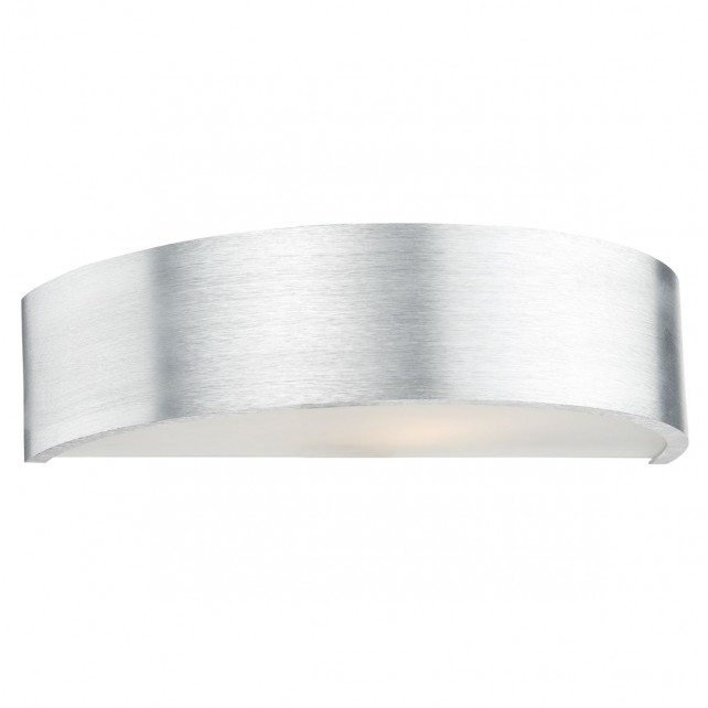 Sarasota 1 Light Aluminium Wall Bracket