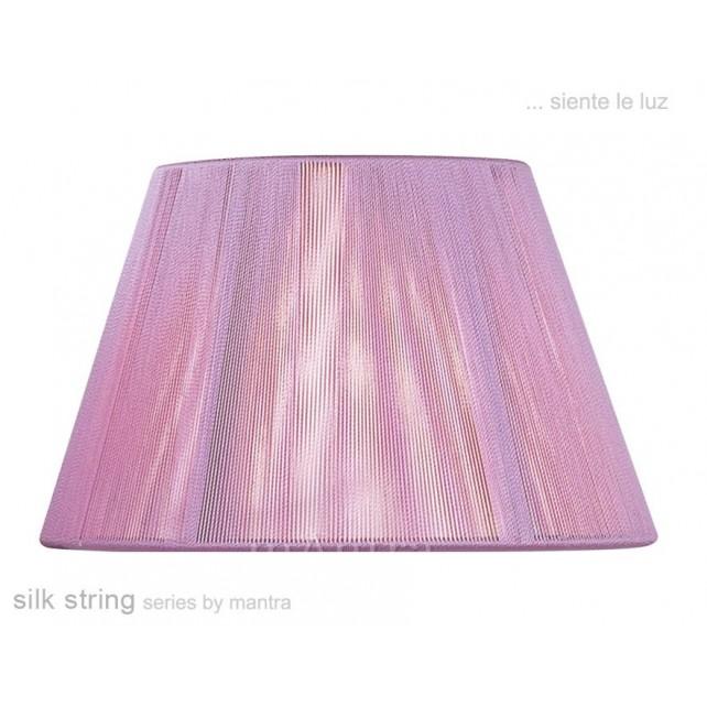 40cm Silk String Shade Lilac Pink
