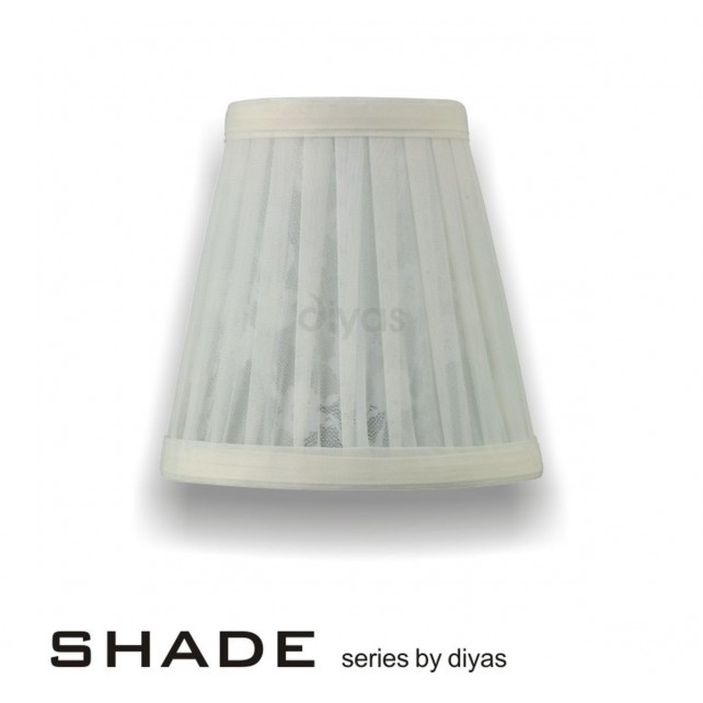 Diyas Organza Pattern Cream 13cmShade