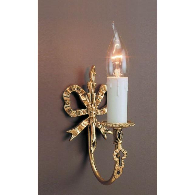 Impex Richmond Wall Light - 1 Light, Brass Plate & Gold Plate