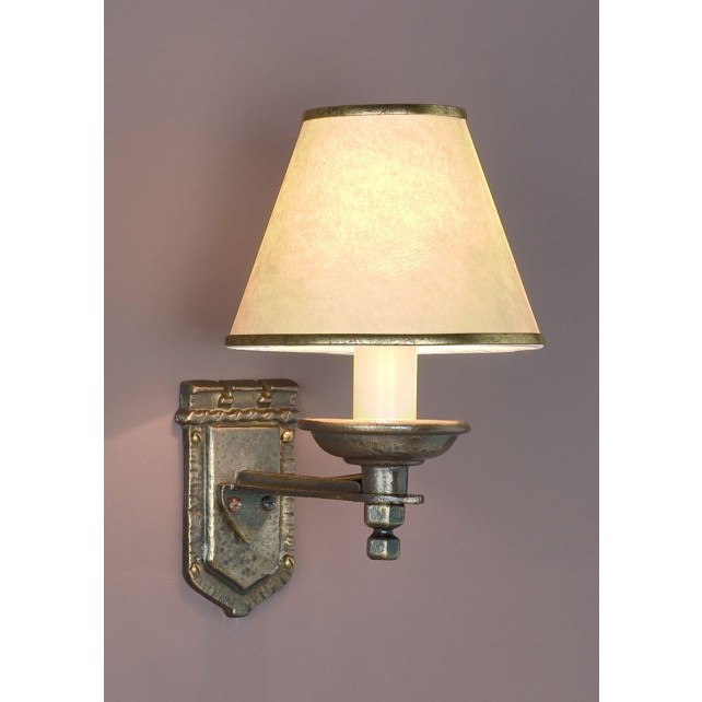 Impex Tudor Wall Light Bronze - 1 Light, Bronze
