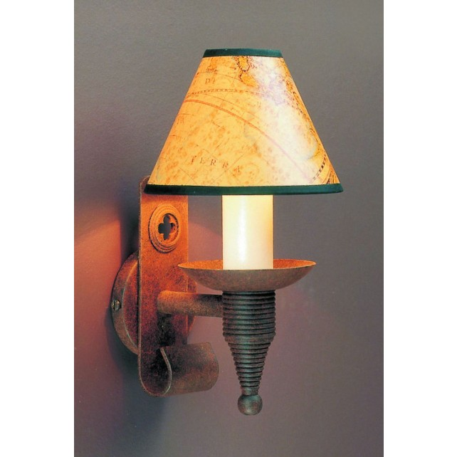 Impex Cromwell Wall Light Aged - 1 Light