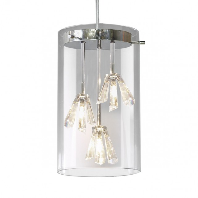 Somerset Ceiling Light - 3 Light Semi Flush
