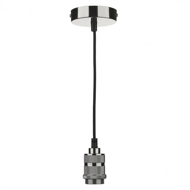 1 Light E27 Decorative Suspension Gun Metal