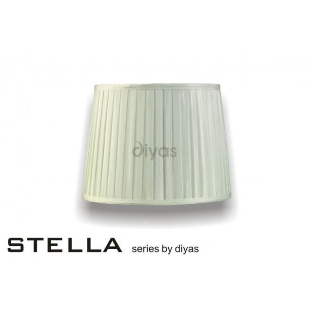 Diyas Stella Round Shade Ivory 300mm