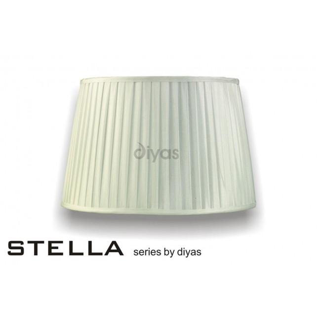 Diyas Stella Round Shade Ivory 400mm