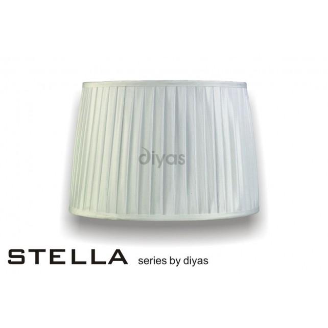Diyas Stella Round Shade White 350mm