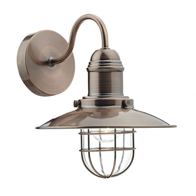 Terrace Single Wall Bracket Copper