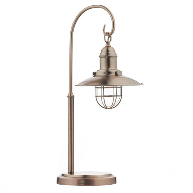 Dar Terrace Table Lamp Copper