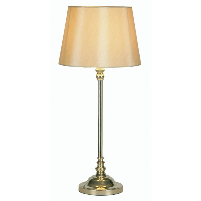Traditional Table Lamp - Polished Brass (530mm)