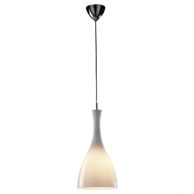 Tone Pendant Light - White