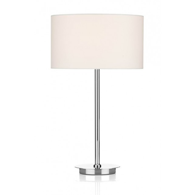 Tuscan table lamp shade cream