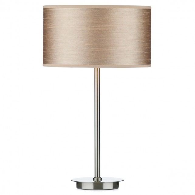 Tuscan Table lamp - Satin Chrome
