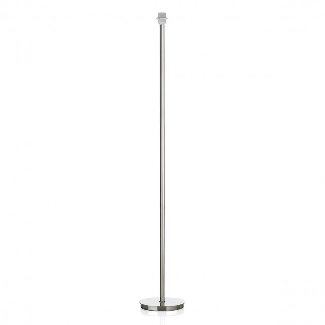 Tuscan Floor lamp - Satin Chrome