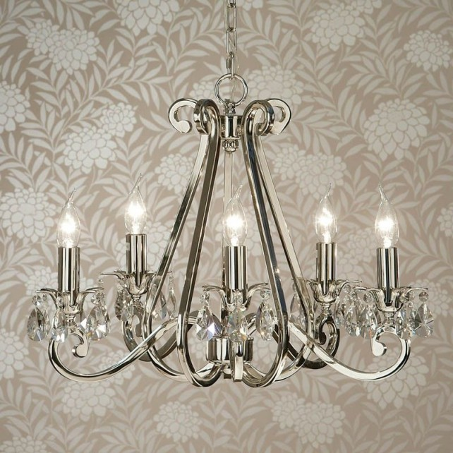 Interiors1900 Oksana 5-Light Chandelier