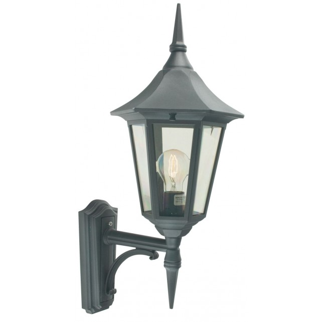 Norlys V1 BLACK Valencia Up Lantern Black