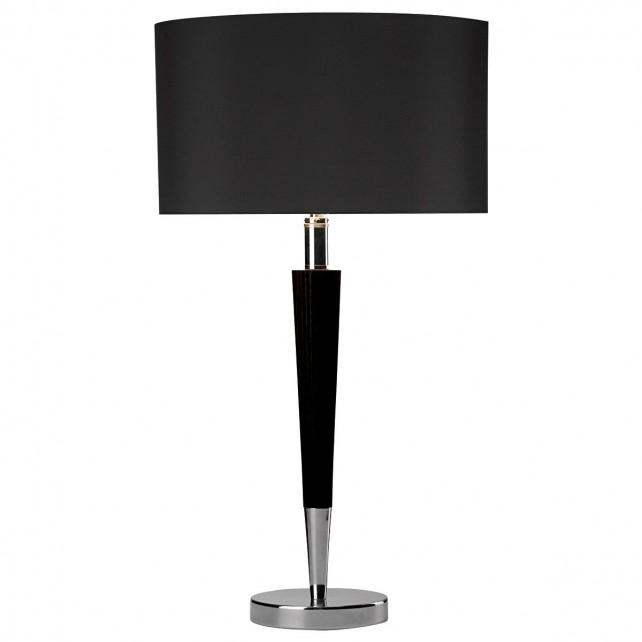Viking Table Lamp - c/w black shade