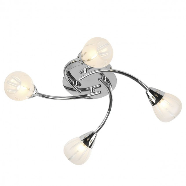Villa Ceiling Light - 4 Light Flush