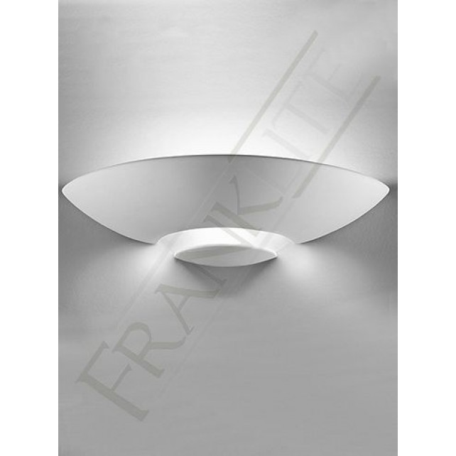 Franklite ceramic uplighter 1 light glass base paintable