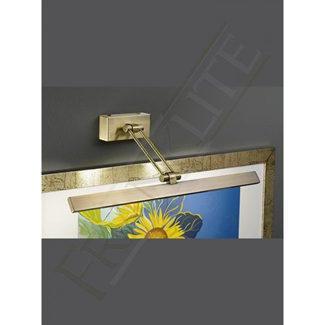 Franklite WB994 505mm LED Bronze Picture Light
