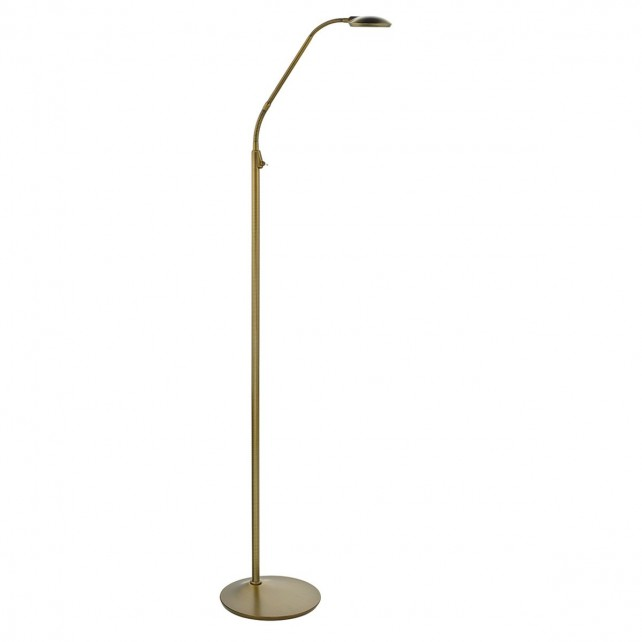 Wellington Floor Lamp Bronze Led