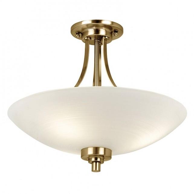 Welles Ceiling Light - Antique Brass
