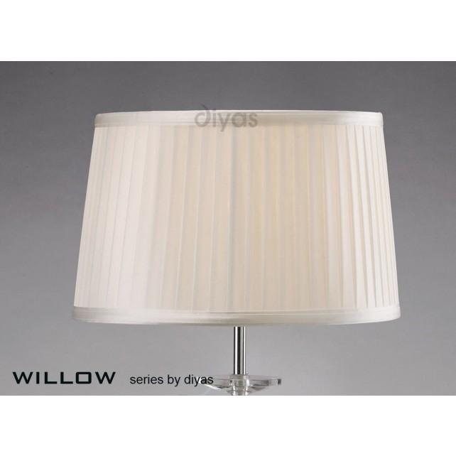 Diyas Willow White 30cmShade