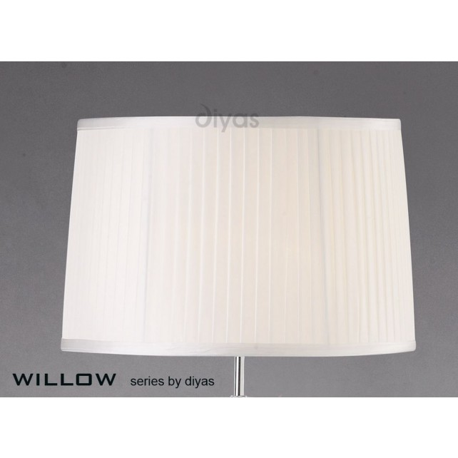 Diyas Willow White 40cmShade