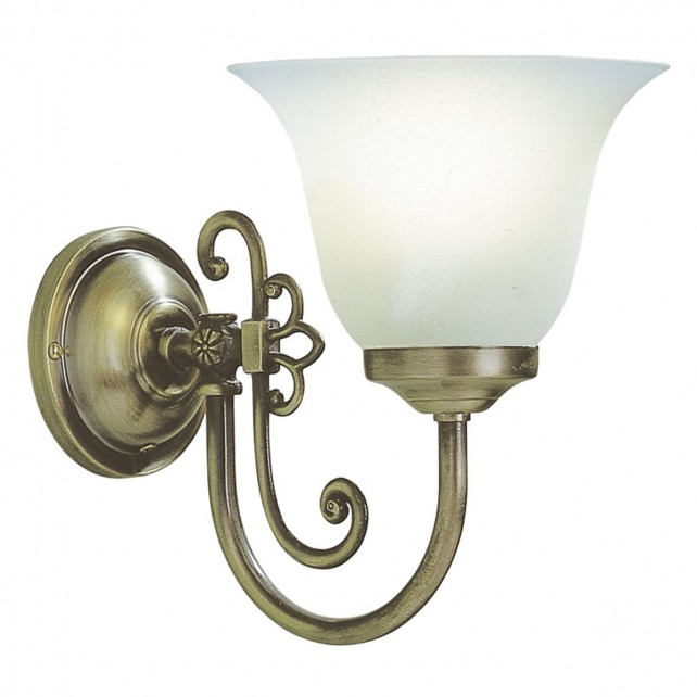 Woodstock Wall Light (Switched) - 1 Light Antique