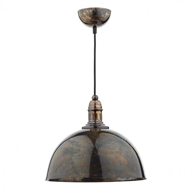 Yoko 1 Light Pendant Mottled Bronze