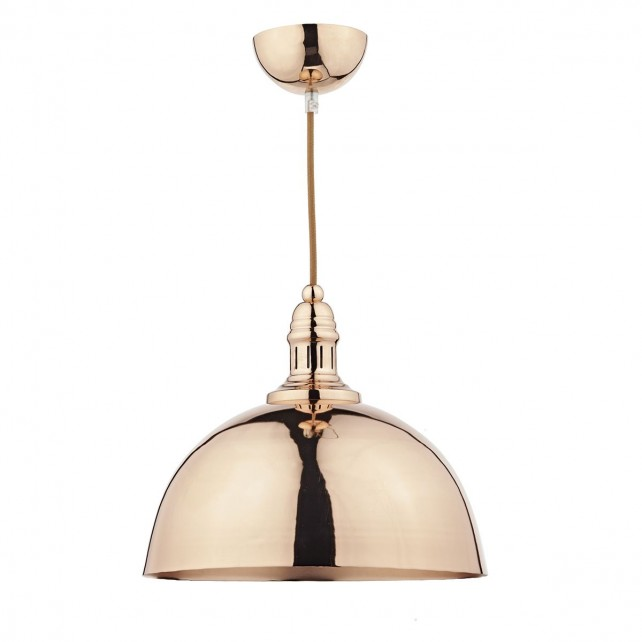 Yoko 1 Light Pendant Copper