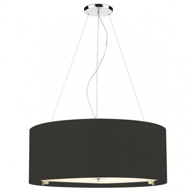 Zaragoza Ceiling Light - 90cm Black