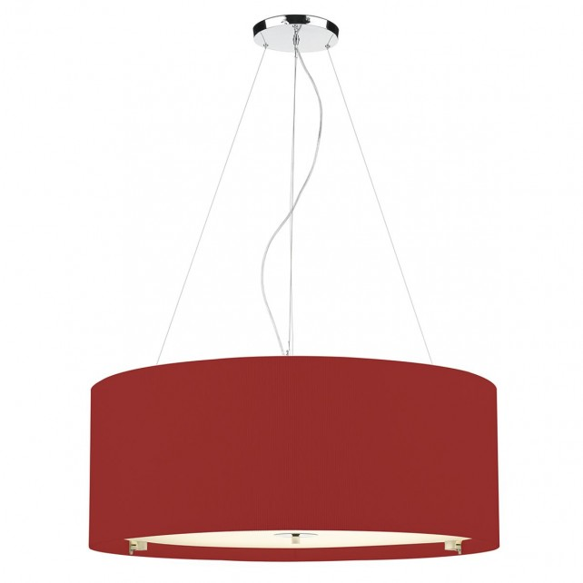 Zaragoza Ceiling Light - 90cm Red