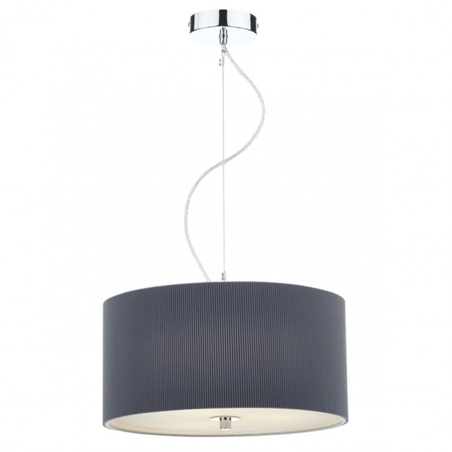 Zaragoza Pendant Light - 3 Light, Grey