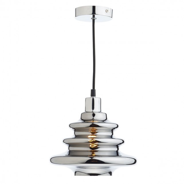 Dar Zephyr Easy Fit Pendant Polished Chrome